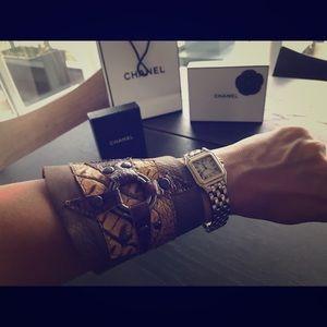 Designer Leather cuff